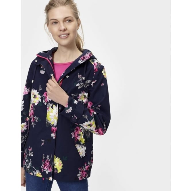 Joules Coastprint Waterproof Hooded Jacket