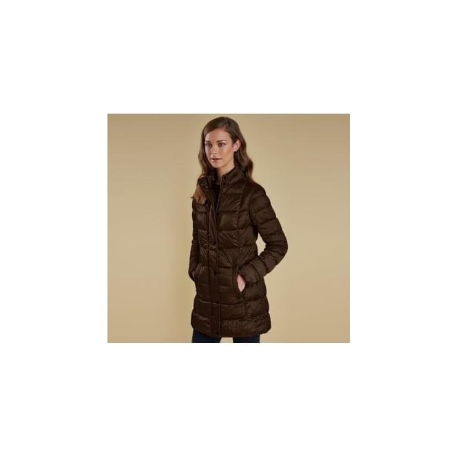 Barbour Clyde Long Quilted Jacket LQU0678