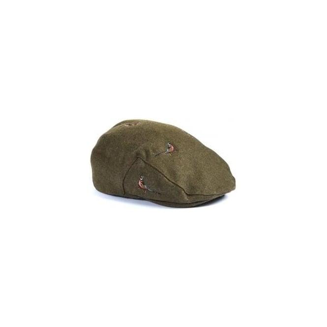 Barbour Men s Pheasant Flat Cap MHA0297 b02acbe83f0f