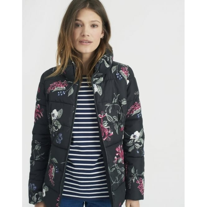 Joules Florian Puffa Printed Padded Jacket