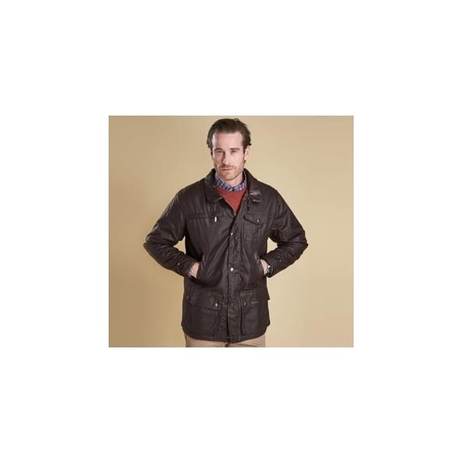 Barbour Bushman Brown Waxed Jacket MWX0725BR71