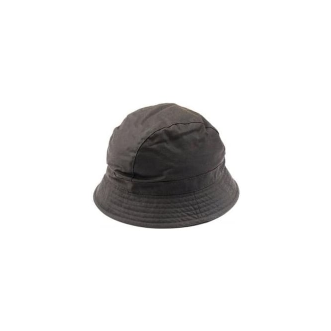 Barbour Olive Wax All Weather Trench Hat LHA0285OL71