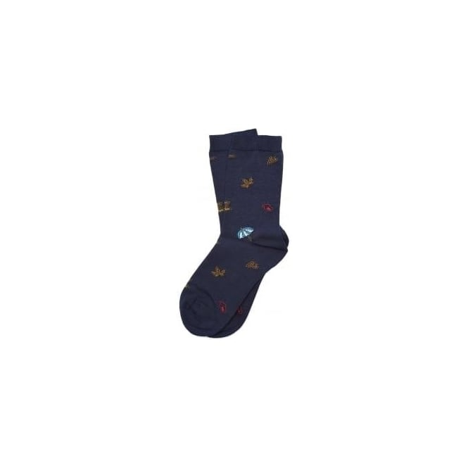 Barbour Autumn Leaf Socks LSO0061NY5