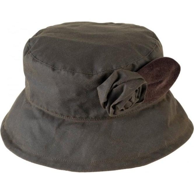 919d9755b95 Barbour Barbour Valerie Waxed Rose Hat LHA0026