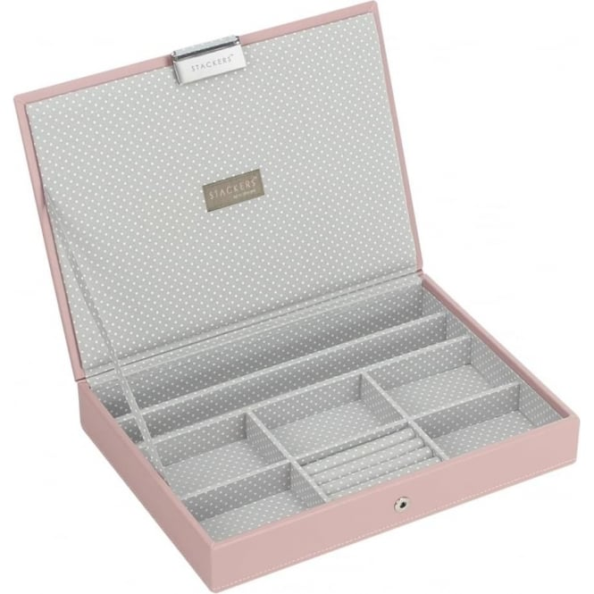Stackers Soft Pink Classic Lidded Stacker 70085