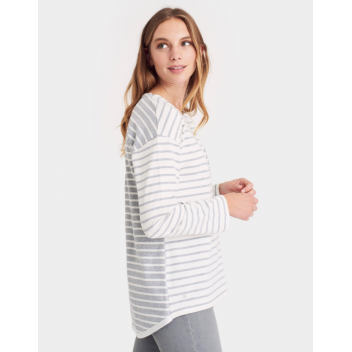 Joules Bay Drop Shoulder Jersey Top