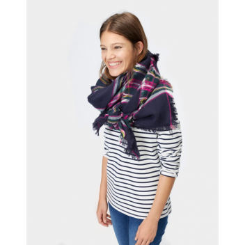 Joules Heyford Oversized Woven Square Scarf