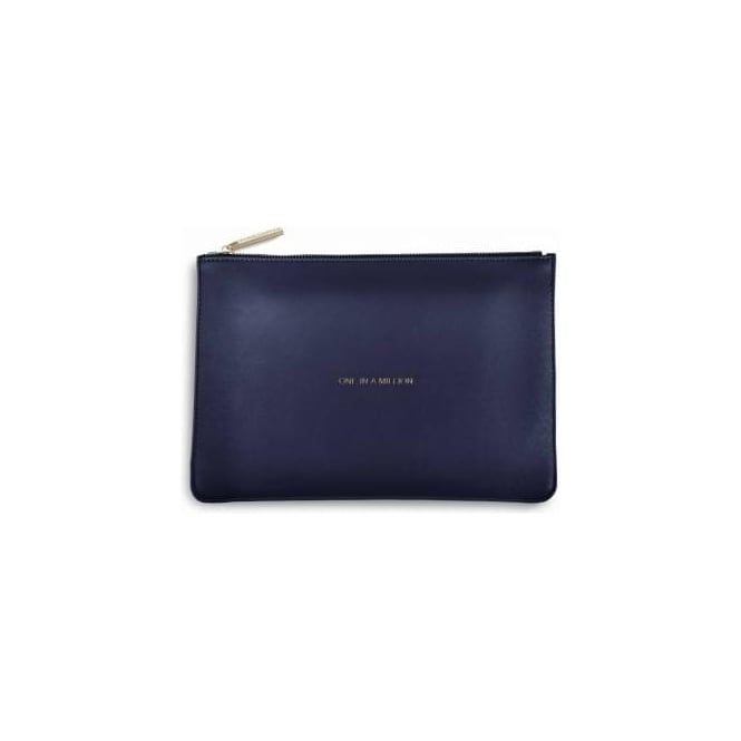 Katie Loxton One In A Million Perfect Pouch in Navy