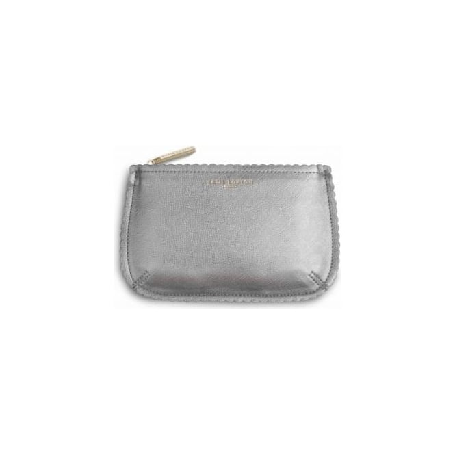 Katie Loxton The Beauty Bag in Silver