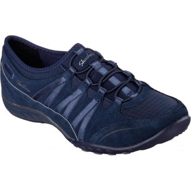 Skechers Relaxed Fit Breathe Easy Moneybags Ladies Trainer