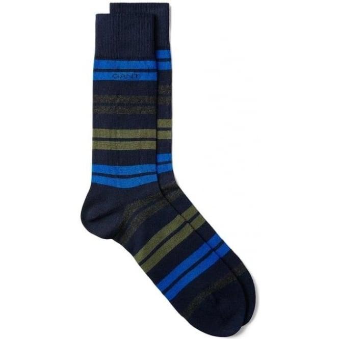 Cheap For Sale Mens Block Stripe Socks GANT Latest LpCOMrDs7w