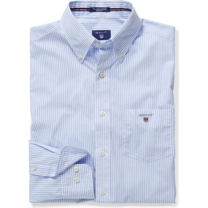 Gant Men's Broadcloth Banker Regular Shirt