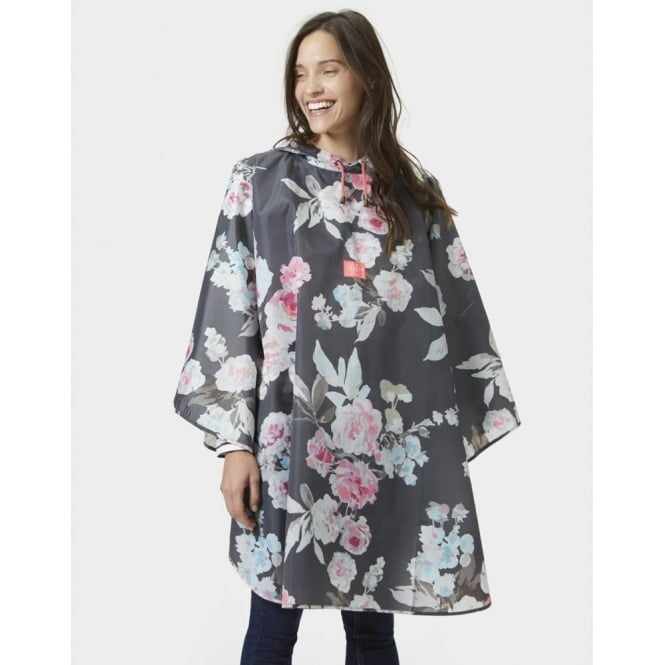 Joules Poncho Printed Showerproof Poncho