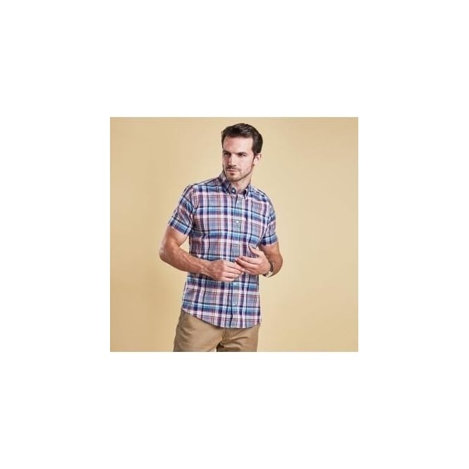 Barbour Gerald Short Sleeve Tailored Shirt MSH3914NY91