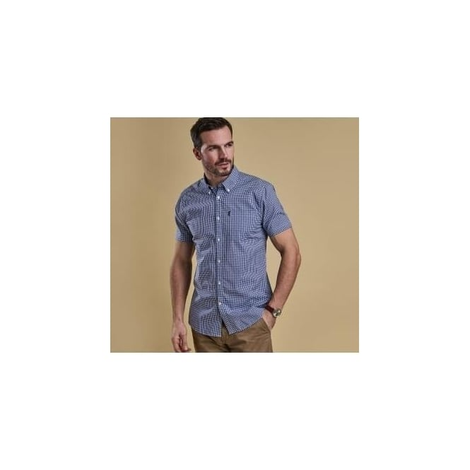 Barbour Hector Short Sleeve Tailored Fit Shirt MSH3613NY91