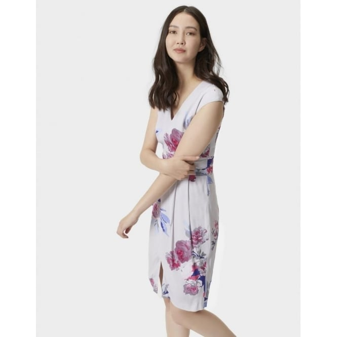 Joules Eleanor Gathered Waistband Dress