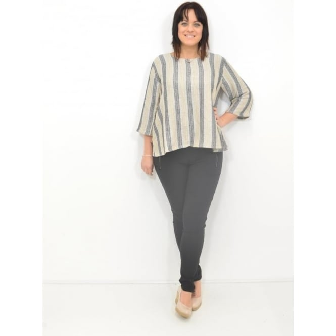 Masai Clothing Dea A-Shaped Wing Sleeved Top
