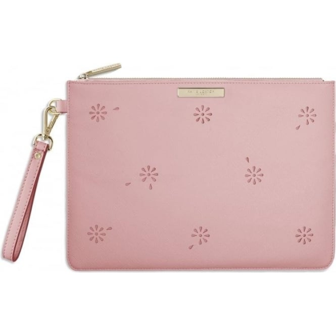 Katie Loxton Beautiful Blossom Pouch in Pink