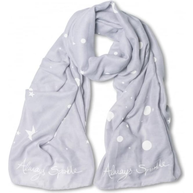 Katie Loxton Always Sparkle Scarf in Lilac