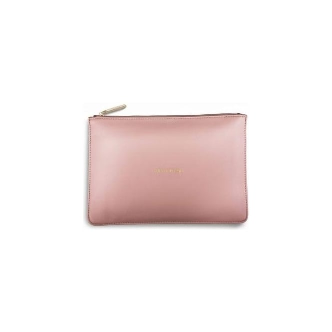 Katie Loxton Pretty In Pink Perfect Pouch in Perfect Pink