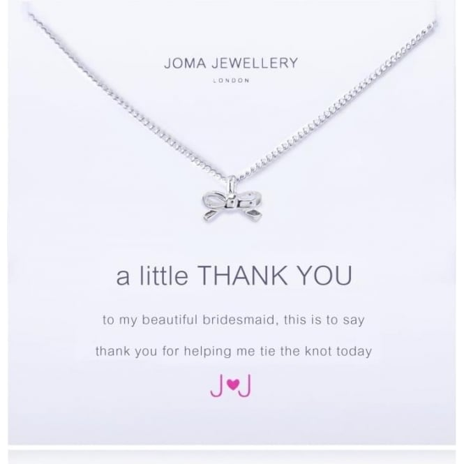 Joma Jewellery A Little Thank You (Bridesmaid) - Necklace