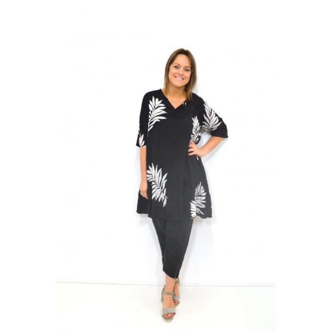 Masai Clothing Gealis ¾ Sleeved A-Shaped Tunic