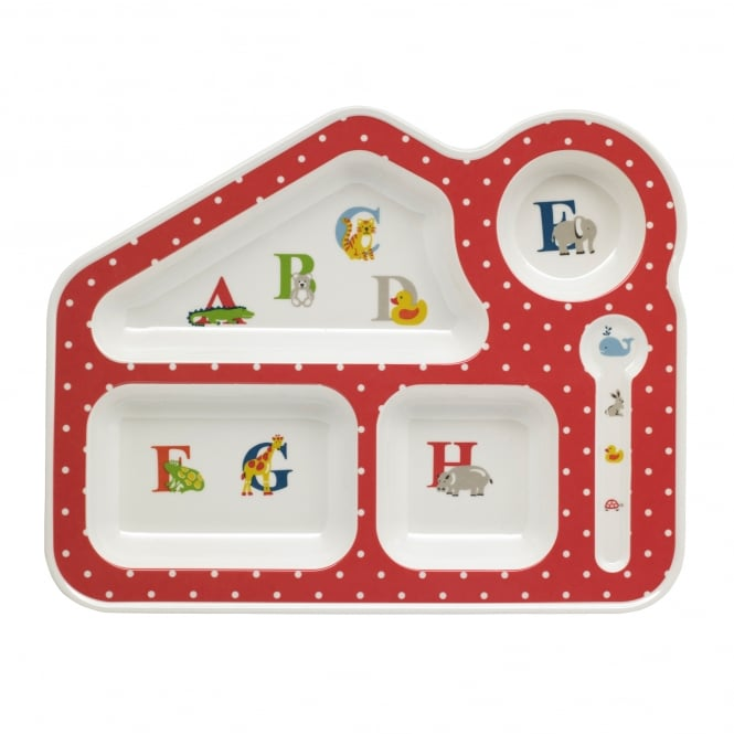 Cath Kidston Animal Alphabet Melamine Food Tray