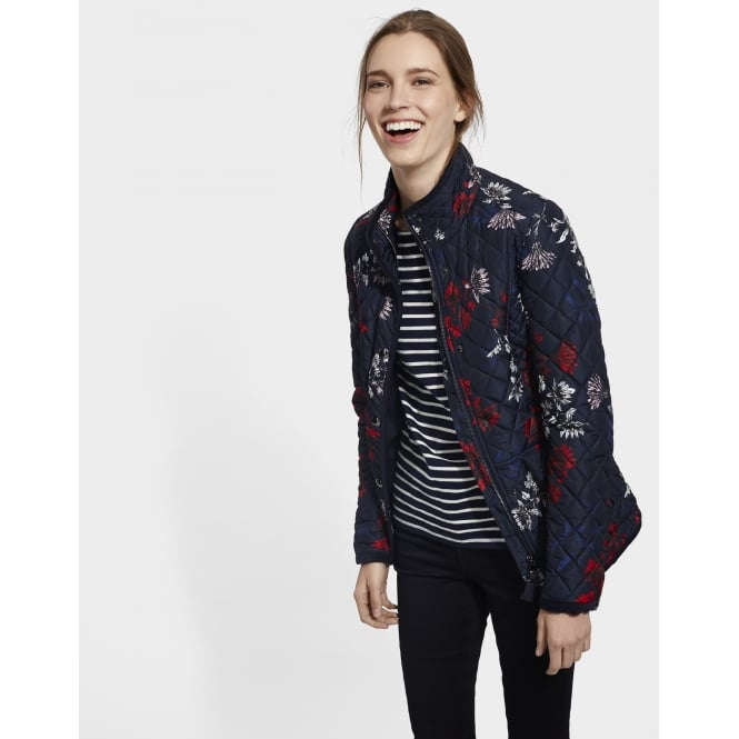 Joules Ladies Newdale Printed Coat