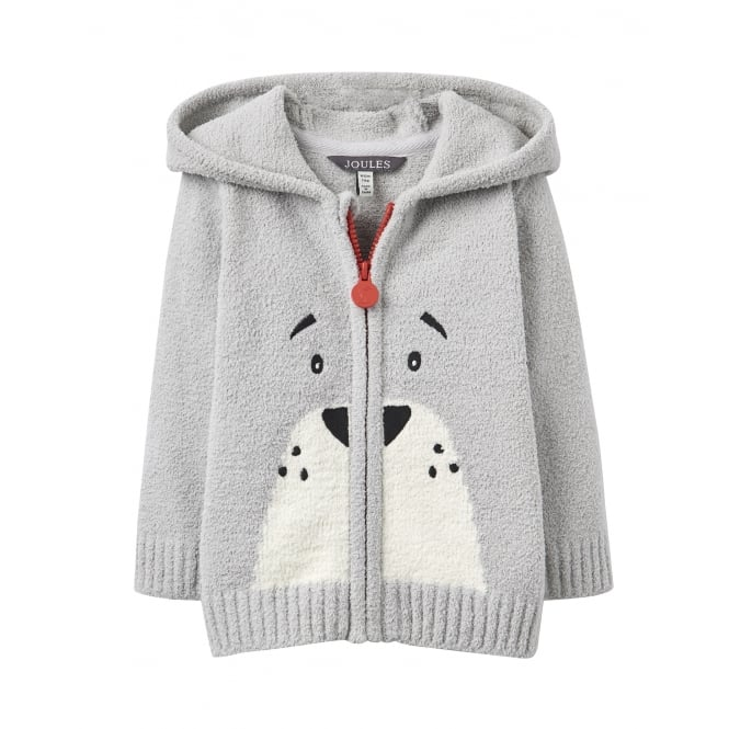 Joules Baby Grizzly Hooded Chenille Jumper