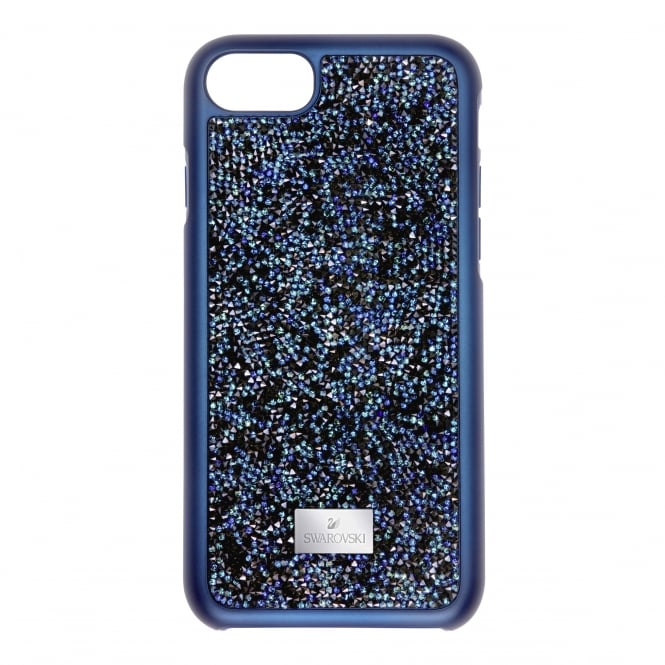 7953d0681af4 Swarovski Glam Rock Iphone 7 Case with Bumper in Blue 5352920