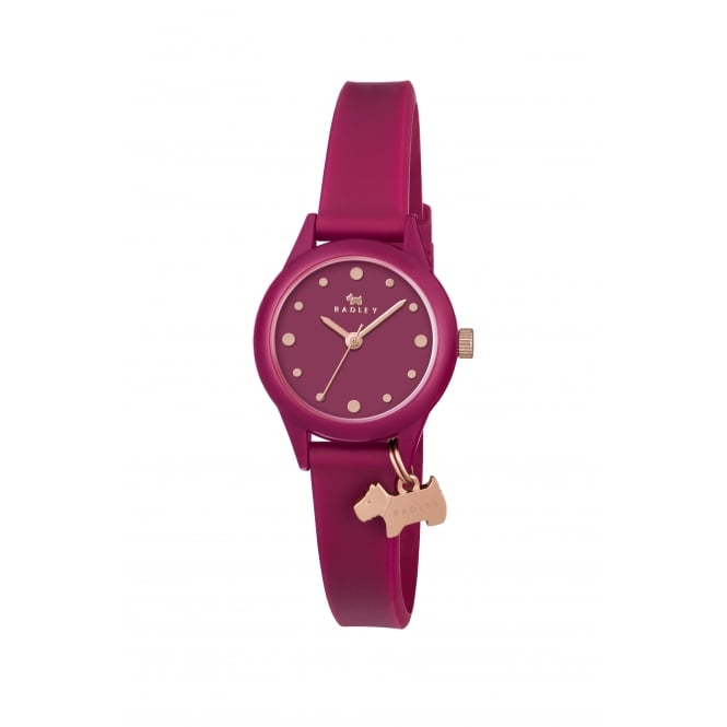 Radley Watch It! Ruby Silicone Strap Watch