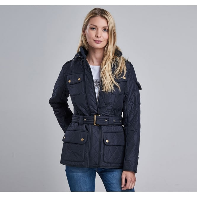 Barbour International Women's International Tourer Polar Quilted Jacket