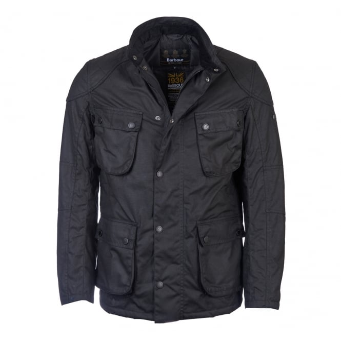 Barbour International Men's International Crank Waxed Jacket