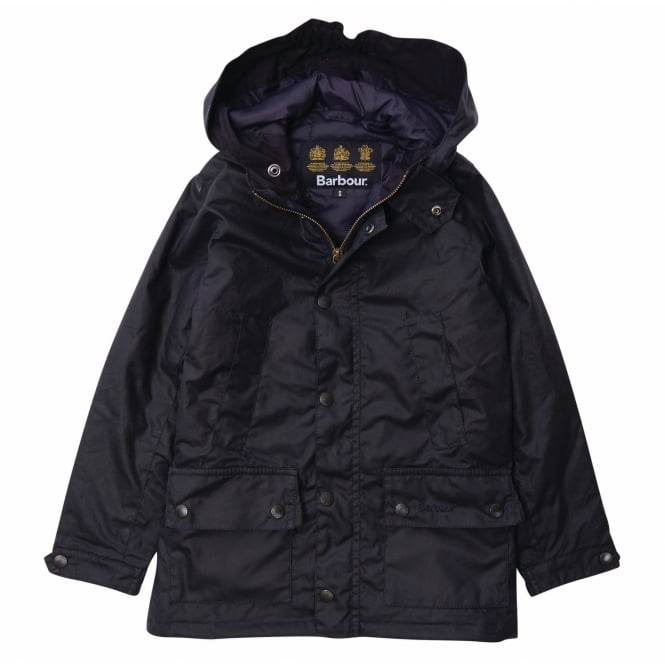 Barbour Boy's Trail Waxed Jacket