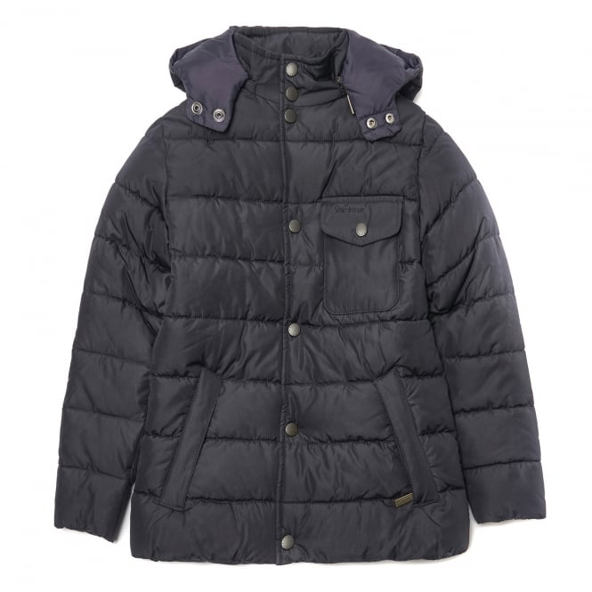 Barbour Boys Cowl Neck Quilted Jacket