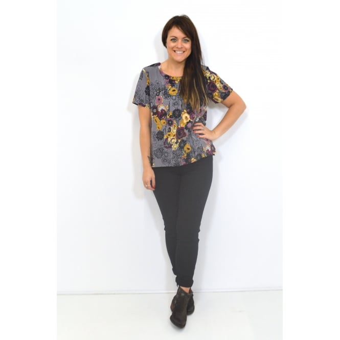 Thought Women's Vienna Floral Print Top