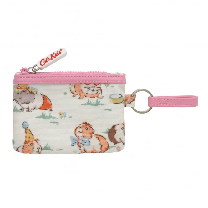 Cath Kidston Pets Party Faux Leather Trimmed Purse