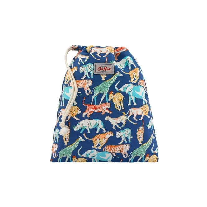 Cath Kidston Safari Animals Drawstring Wash Bag