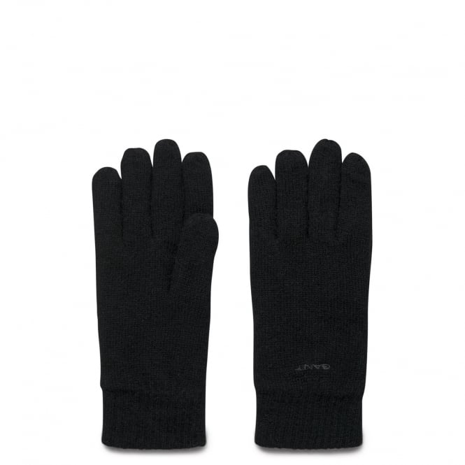 Gant Men's Cotton and Wool Gloves