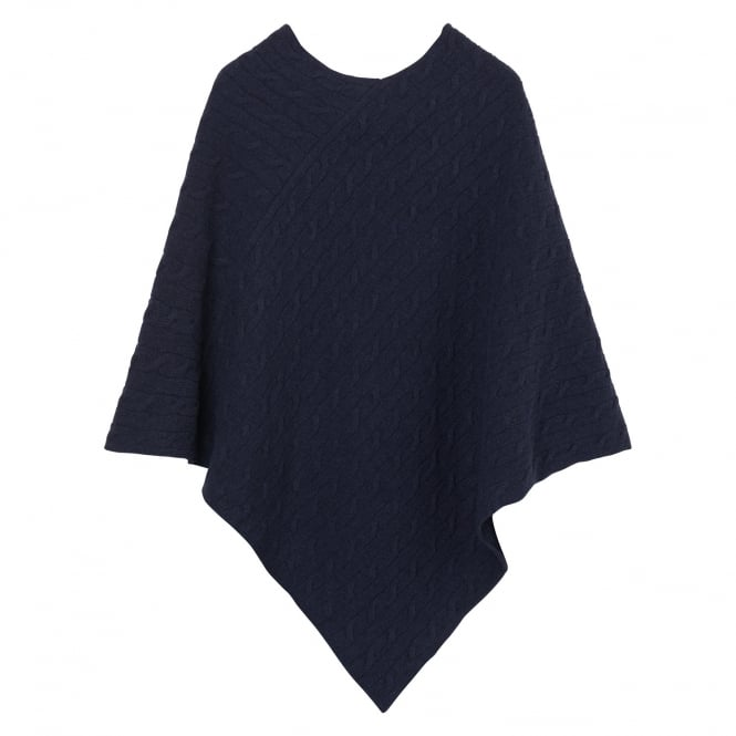 Gant Women's Cable Poncho