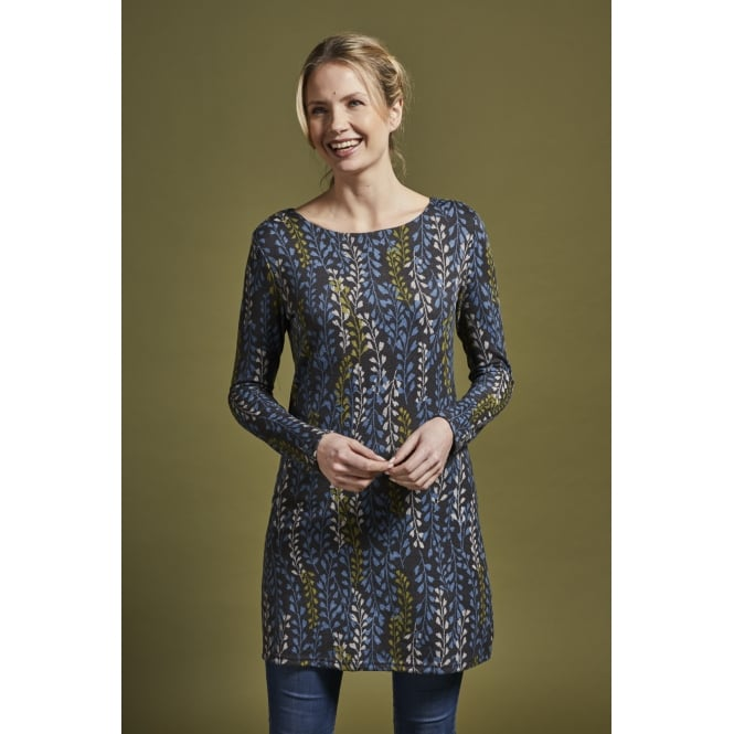 Lily and Me Women's Angela Tunic Trailing Leaf