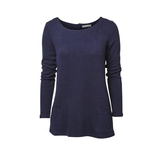 Lily and Me Women's Burford Longline Jumper Plain