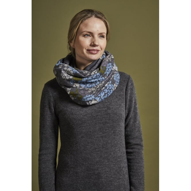 Lily and Me Printed Snood Autumn Bloom