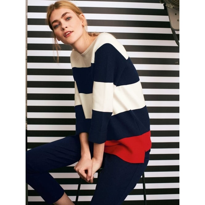 White Stuff City Stripe Jumper