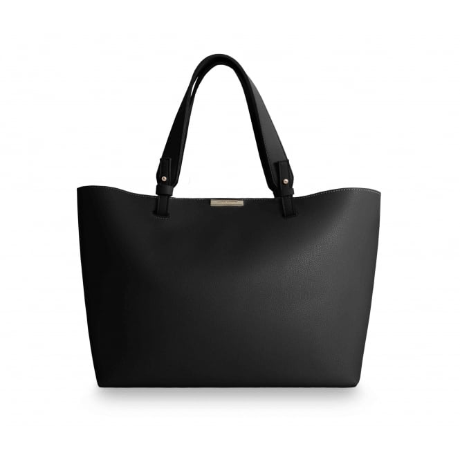 Katie Loxton Piper Soft Black Tote Bag