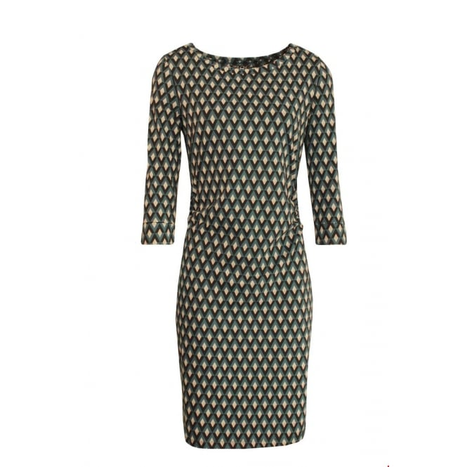 Zilch Women's Diamond Print Tulip Dress