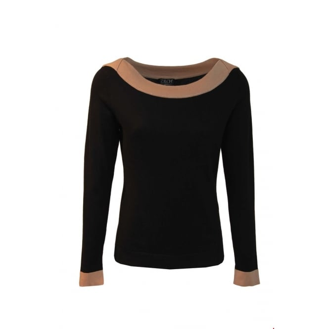 Zilch Women's Boat Neck Sweater
