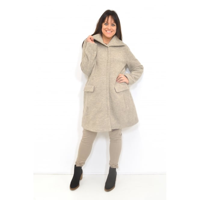 Masai Clothing Thelma A-Shaped Long Sleeved Coat