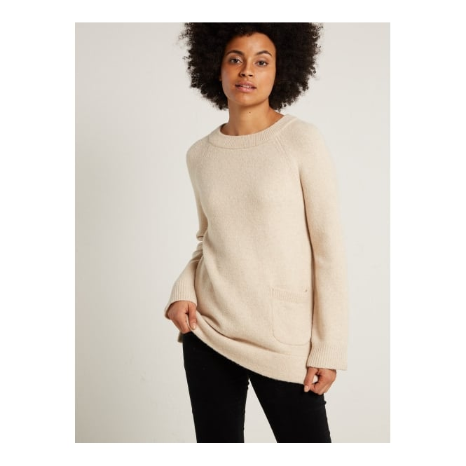 White Stuff Winter One Pocket Jumper