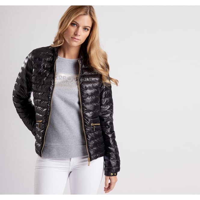 Barbour International Women's Lapper Quilted Jacket